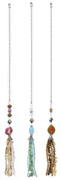Ceiling Fan Chain Pull Ornament Decorative Pearl Tassel