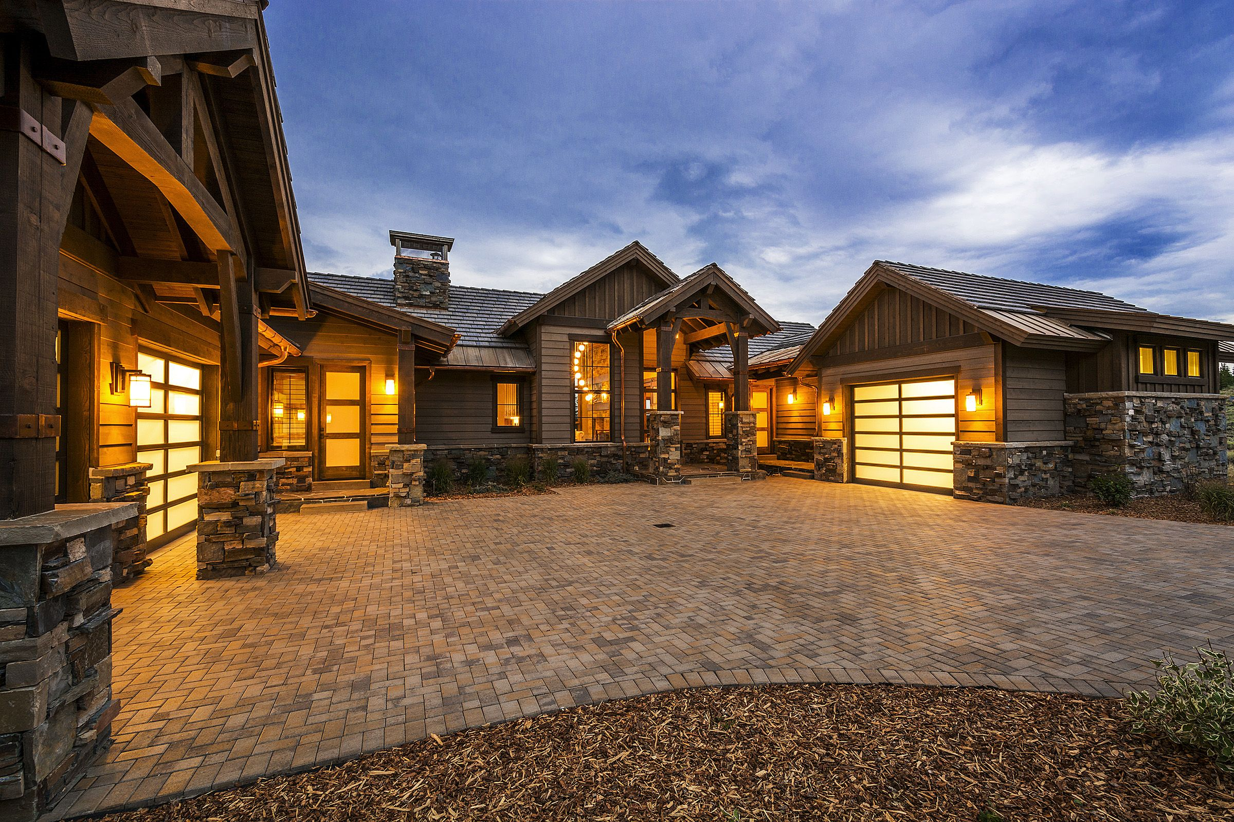 Lane Myers Construction Utah Custom Home Builders Glenwild Community Rambler Park City Luxury