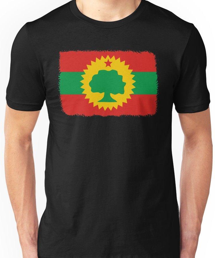 Oromo Flag Ethiopia Unisex T-Shirt in 2019 | Products