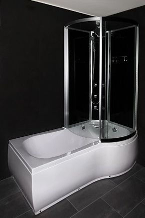 AcquaVapore DTP8050A301L Wanne, Badewanne, Dusche