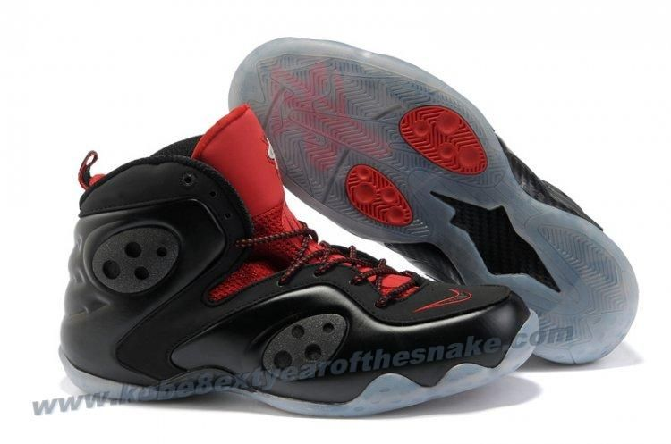 d4449bab11497 New Nike Zoom Rookie LWP Penny Hardaway Shoes Black Red