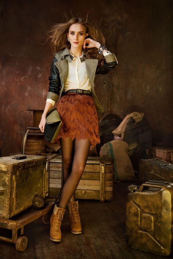 For Joy Magazine(Russia) on Fashion Served