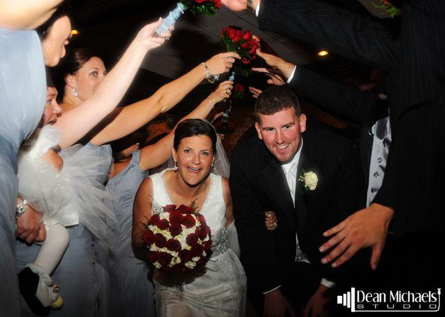Our December 2013 Monthly Classic: Erin & Steven's September 2008 Madison Hotel #wedding day! (photo by deanmichaelstudio.com) #njwedding #njweddings #bride #groom #love #fall #photography #deanmichaelstudio