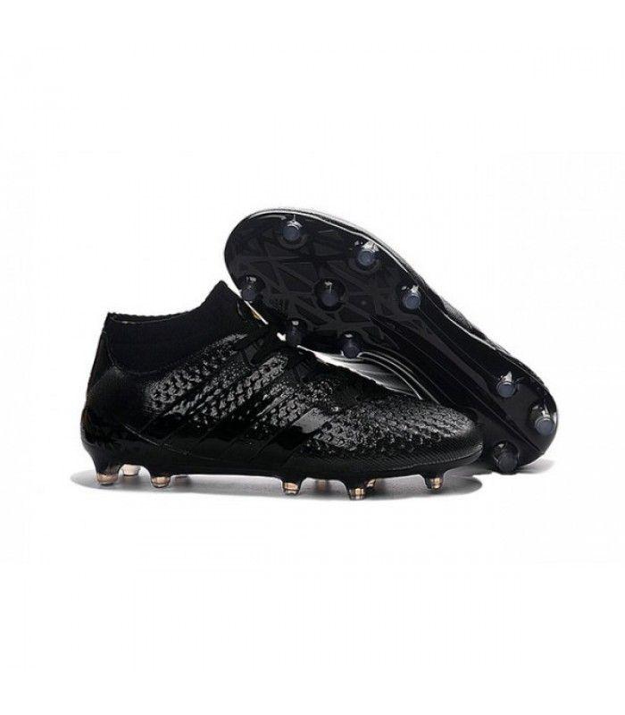 finest selection 2f6df e6048 Acheter Nouvelles - Chaussures adidas ACE 16.1 Primeknit FG AG tout Noir  pas cher en
