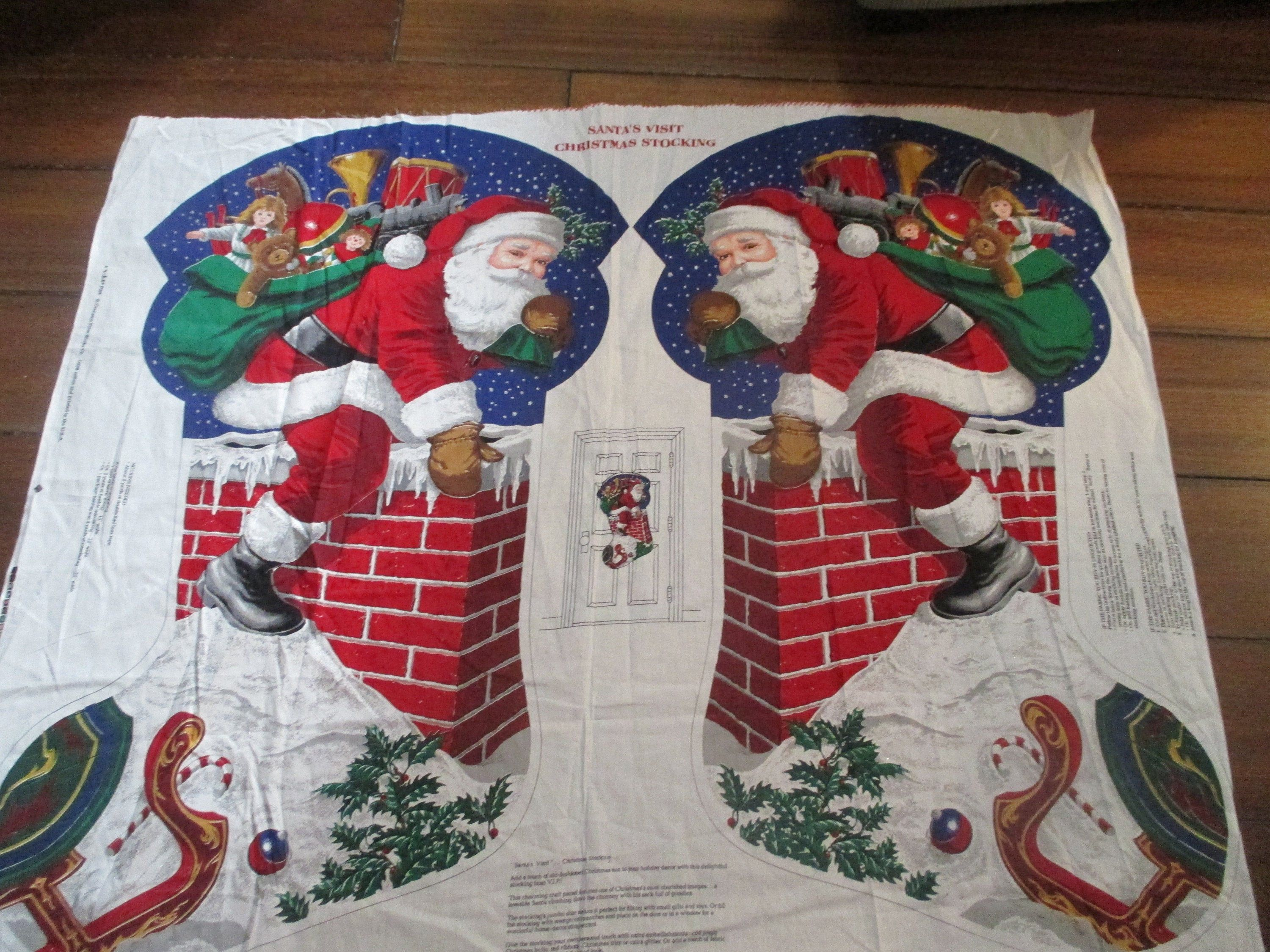 Fat Quarter Let It Snow Sleigh Christmas Holiday Cotton Sewing Quilting Fabric