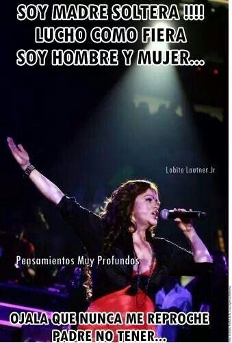 Letra de canción de Madre Soltera de Jenni Rivera lyrics