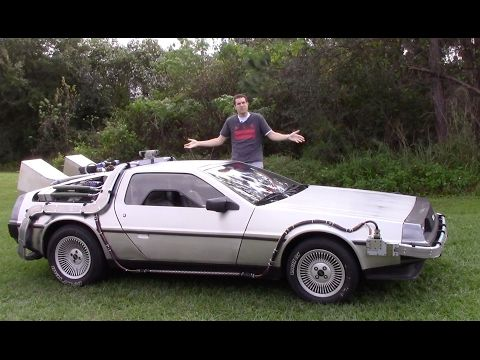 What It's Like To Drive An Actual DeLorean Time Machine, Minus Time Travel.