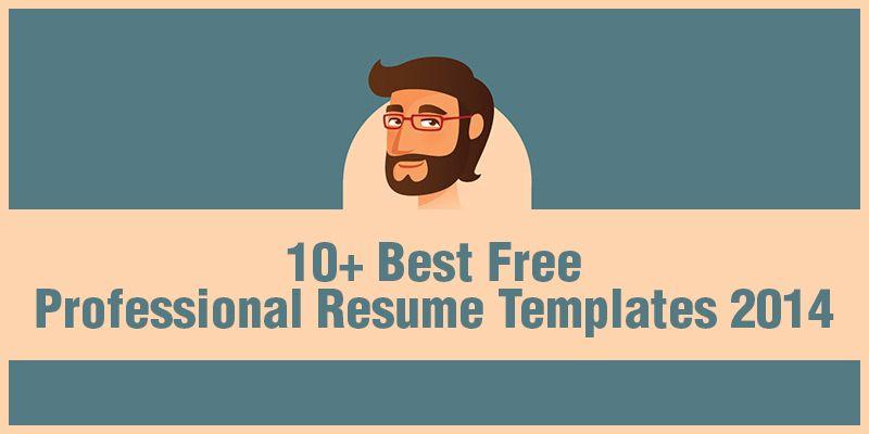 Best Free Professional Resume Templates   Web Development