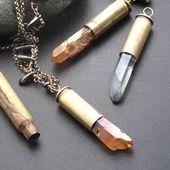 How to Make Bullet Shell Pendants | Gift Ideas | Creative Spotting  Tutorial fü…