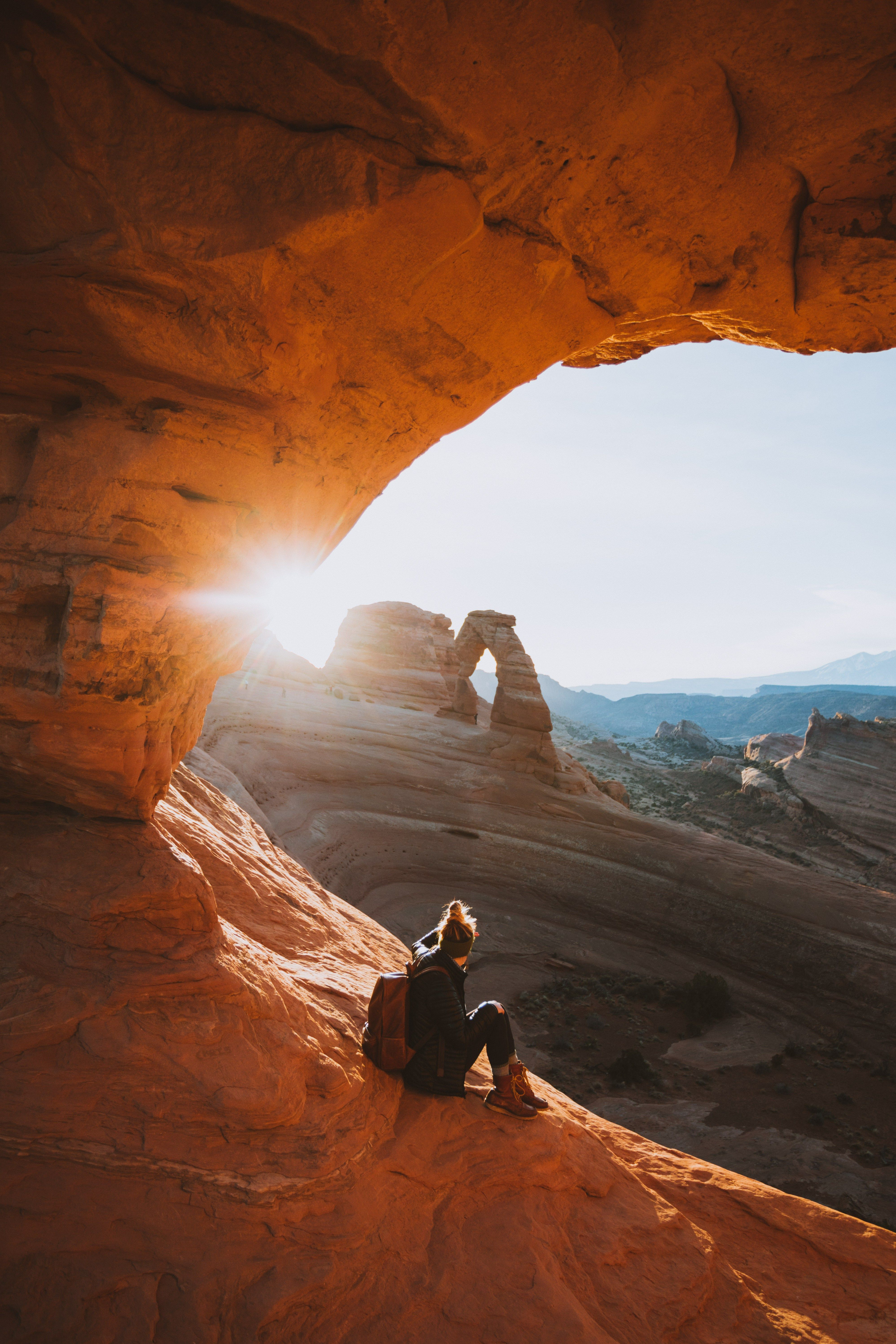 Delicate Arch Hike During Sunrise Beat The Crowds