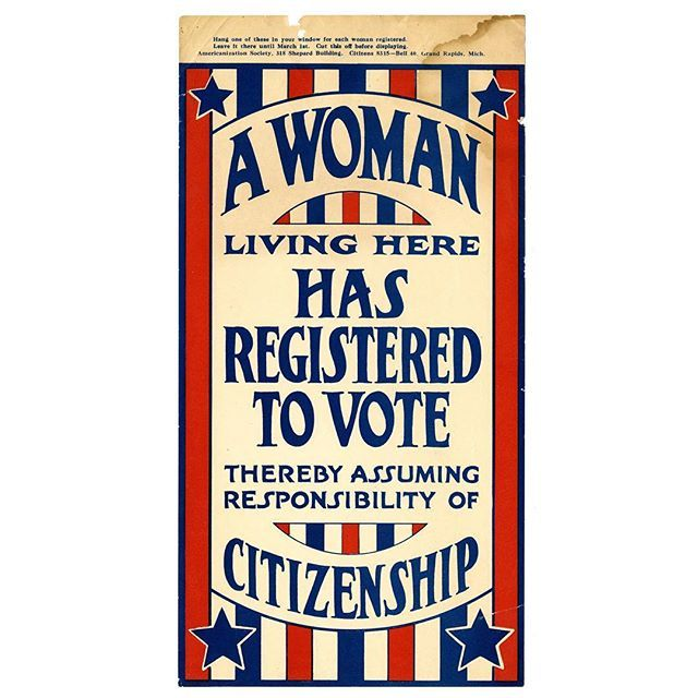 19th Amendment Passed By Congress On June 3 1919 Celebrate