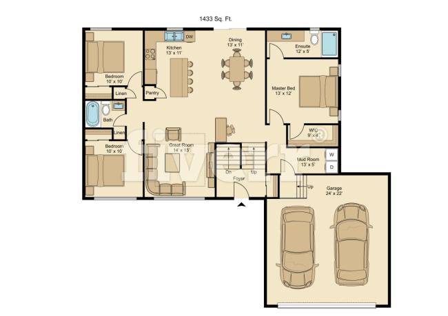 Draw A Floor Plan In Coreldraw Floor Plans Interior