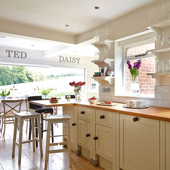 Open Plan Kitchen Diner: Layout Design For Open Plan Kitchen Dining And Living Area