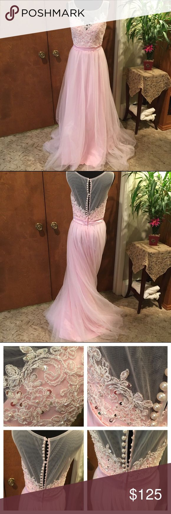 Spotted while shopping on Poshmark: Beautiful prom dress, size 8 ...