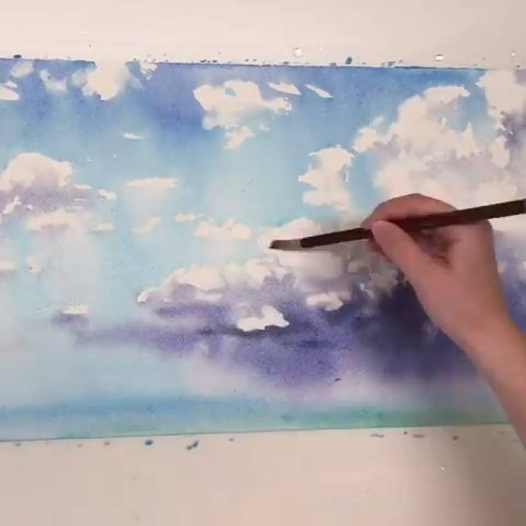 9 640 Likes 56 Comments Watercolor Illustrations Watercolor