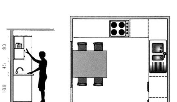 Plan cuisine gratuit 20 plans de cuisine de 1 m2 32 m2 for Plans cuisine ouverte