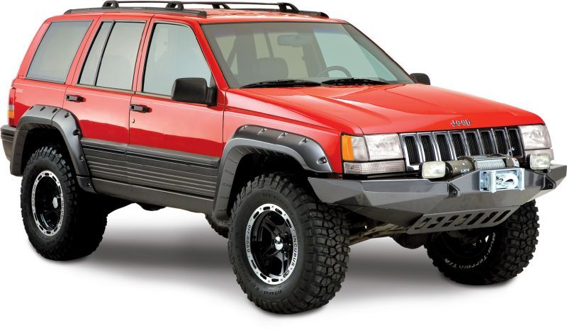 Bushwacker CutOut Fender Flares Jeep Parts and