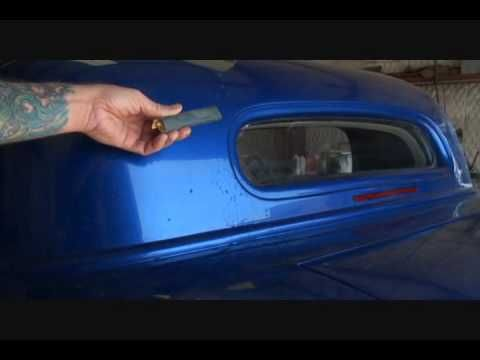 Remove Spray Paint From Car >> Automotive Refinishing How To Remove Runs And Drips From