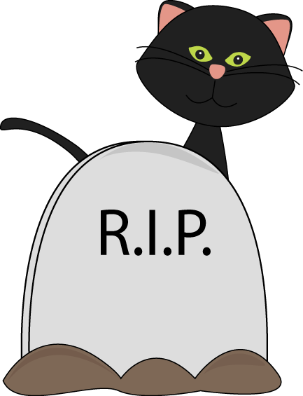 halloween black cat and rip tombstone clip art clip art rh pinterest co uk tombstone clipart tombstone clipart images