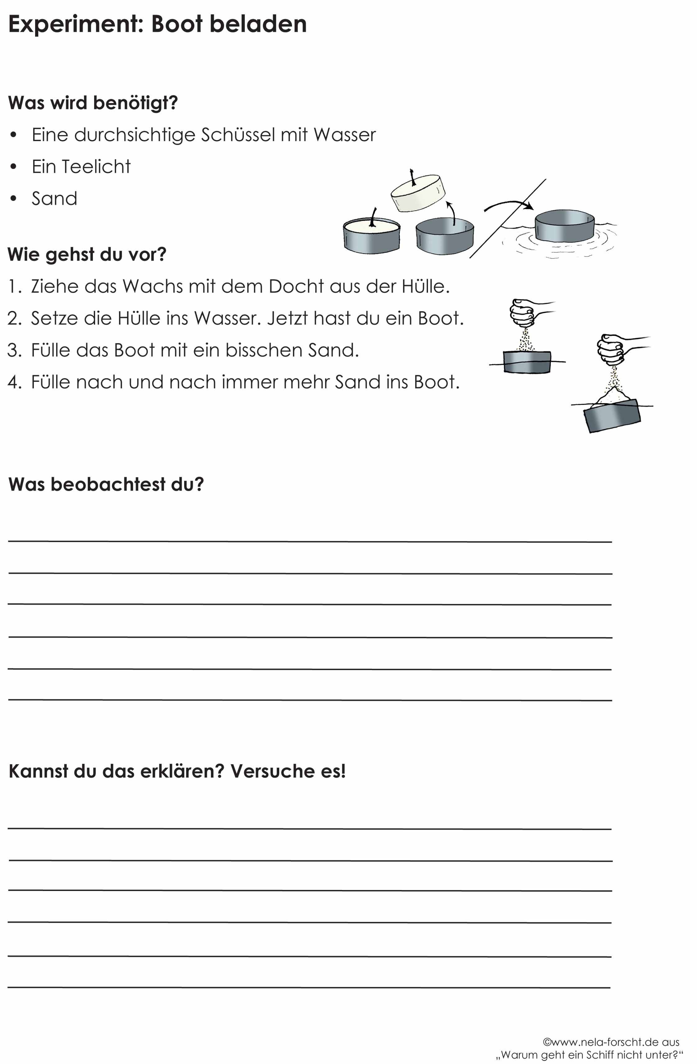 Arbeitsblätter für die Grundschule zu \