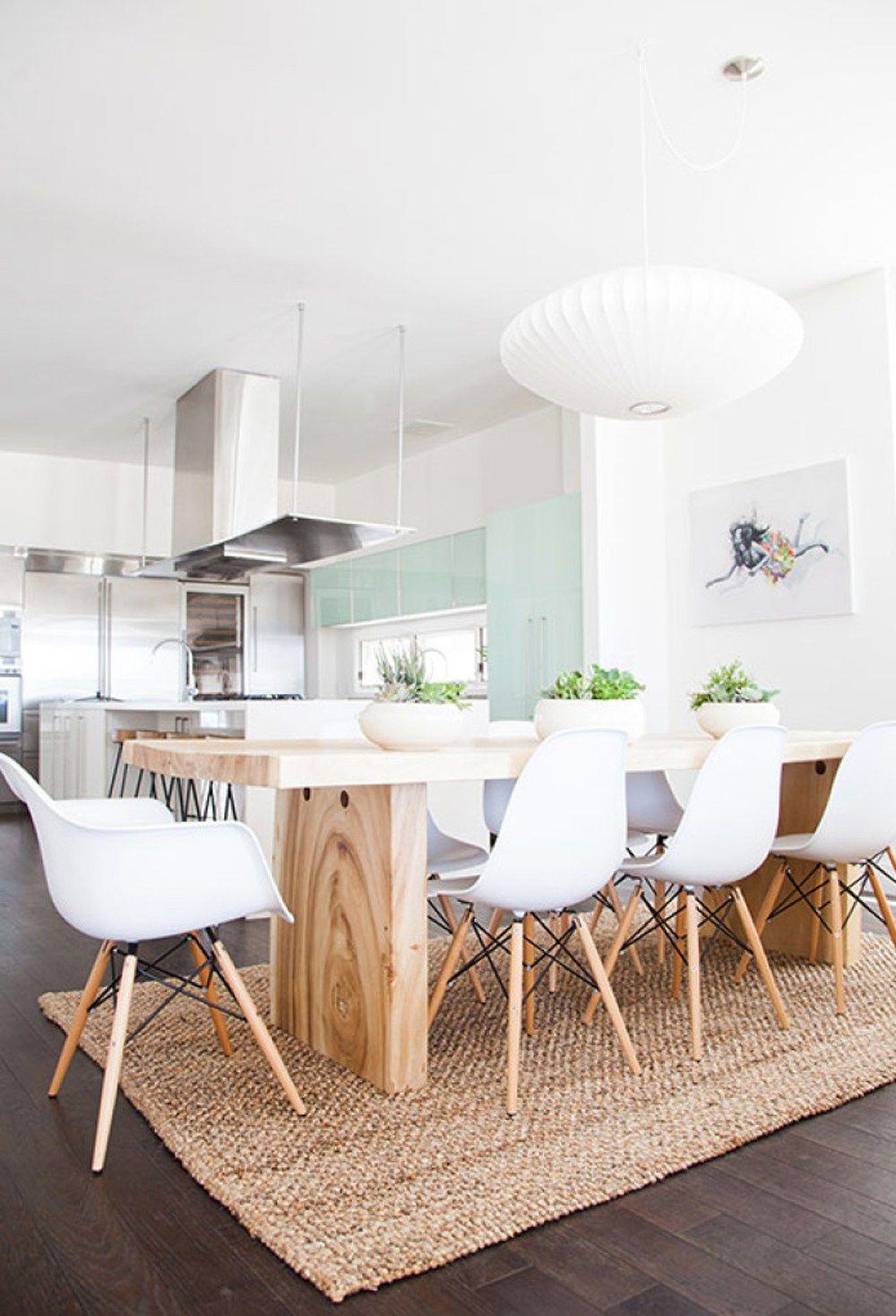 On Trend Jute Rug Layering Dining Room Design Dining Room
