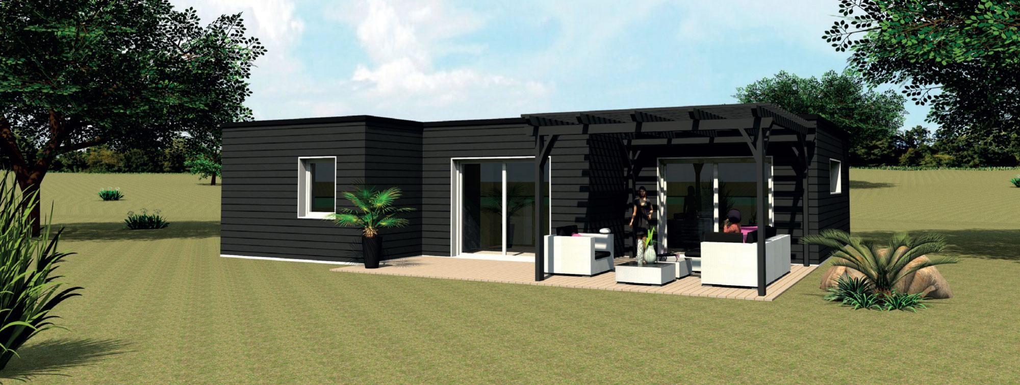 top modele de maison en bois moderne hd29 montrealeast. Black Bedroom Furniture Sets. Home Design Ideas