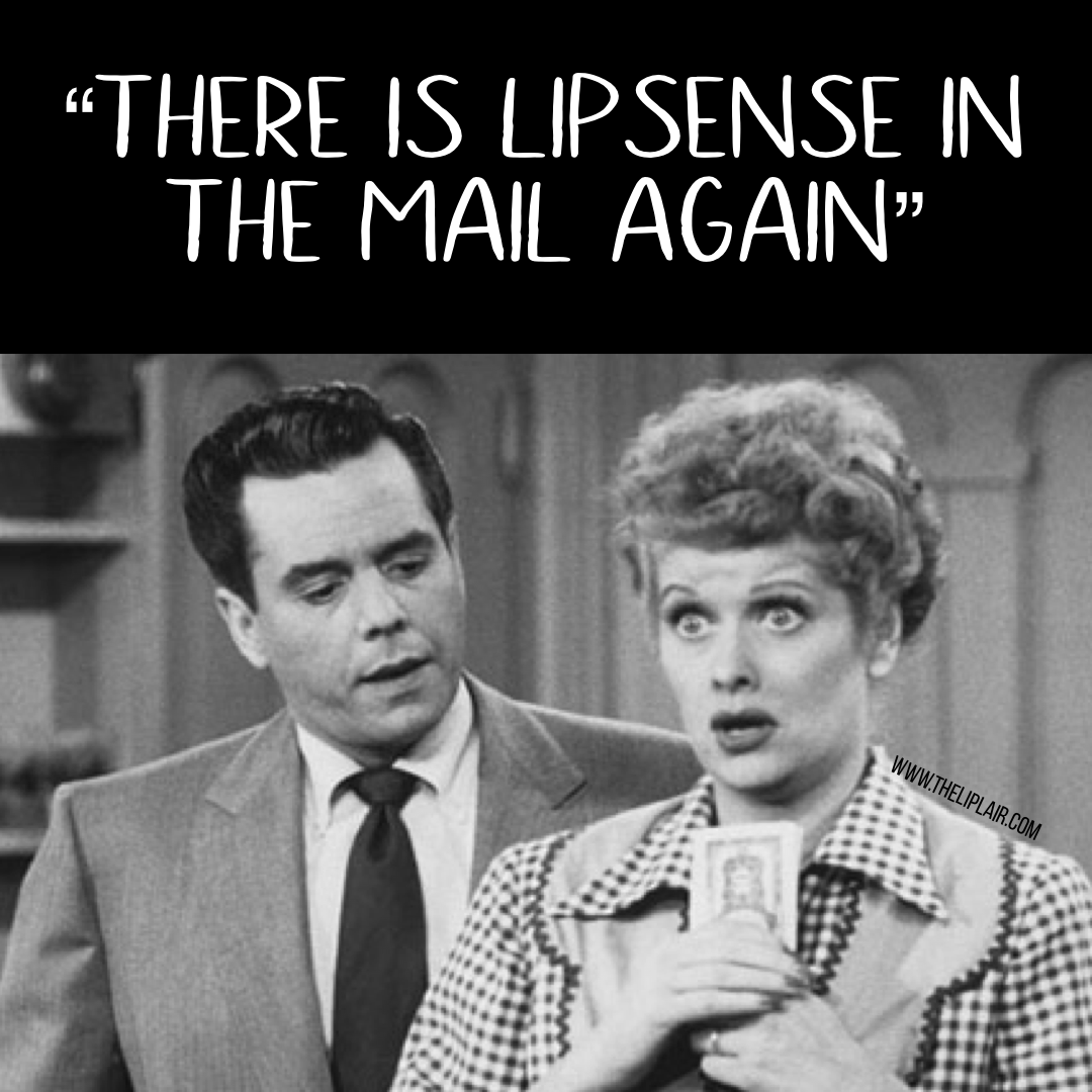 A little lipsense funny! It's a good thing I joined for the discount! My lipsense is a tax write off and a business expense. Get paid to wear your favorite lipstick. Only $55 to join. www.theliplair.com