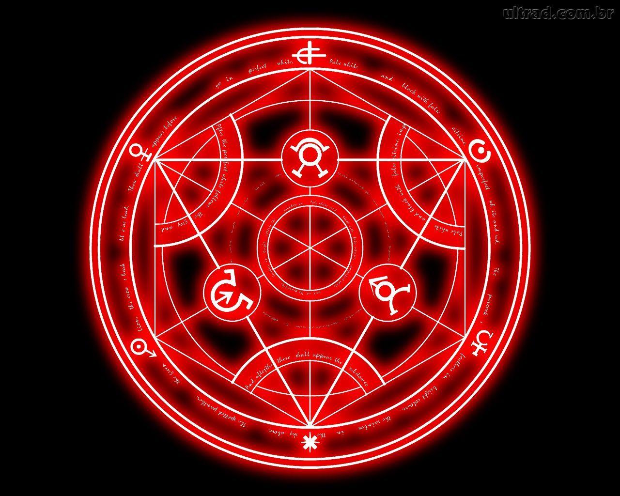 Animemanga Fulmetal Alchemist Brotherhood Transmutation Circle