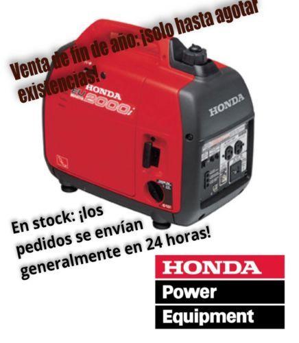 2 X NEW HONDA SUPER QUIET EU2000i GENERATORS (4000 Watts Total!) Free  Shipping