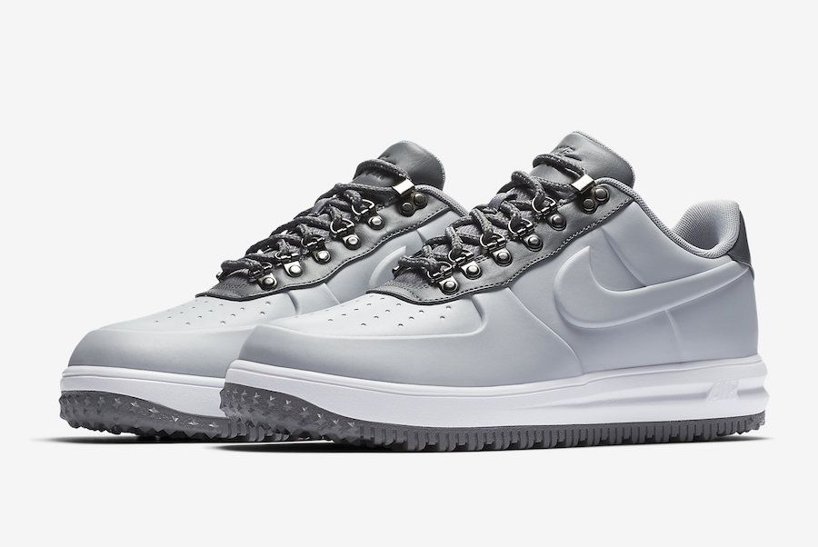 Out Now: Nike Lunar Force 1 Duckboot Low Wolf Grey | Nike