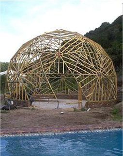 40ft dome framing completed geodesic world pinterest d me g od sique maison cologique et. Black Bedroom Furniture Sets. Home Design Ideas