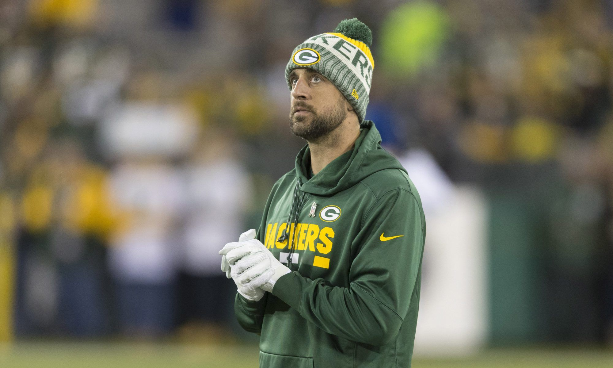 Deodorant S Gone And The Packers Stink Aaron Rodgers Packers Usa Today Sports