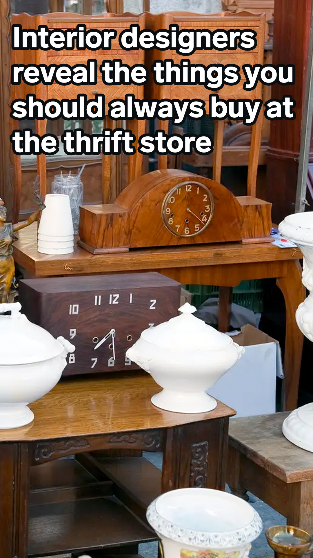 Interior Designers Reveal The 8 Things You Should Always Buy At The Thrift Store Thrifting Diy Home Decor Projects Shop Interior Design