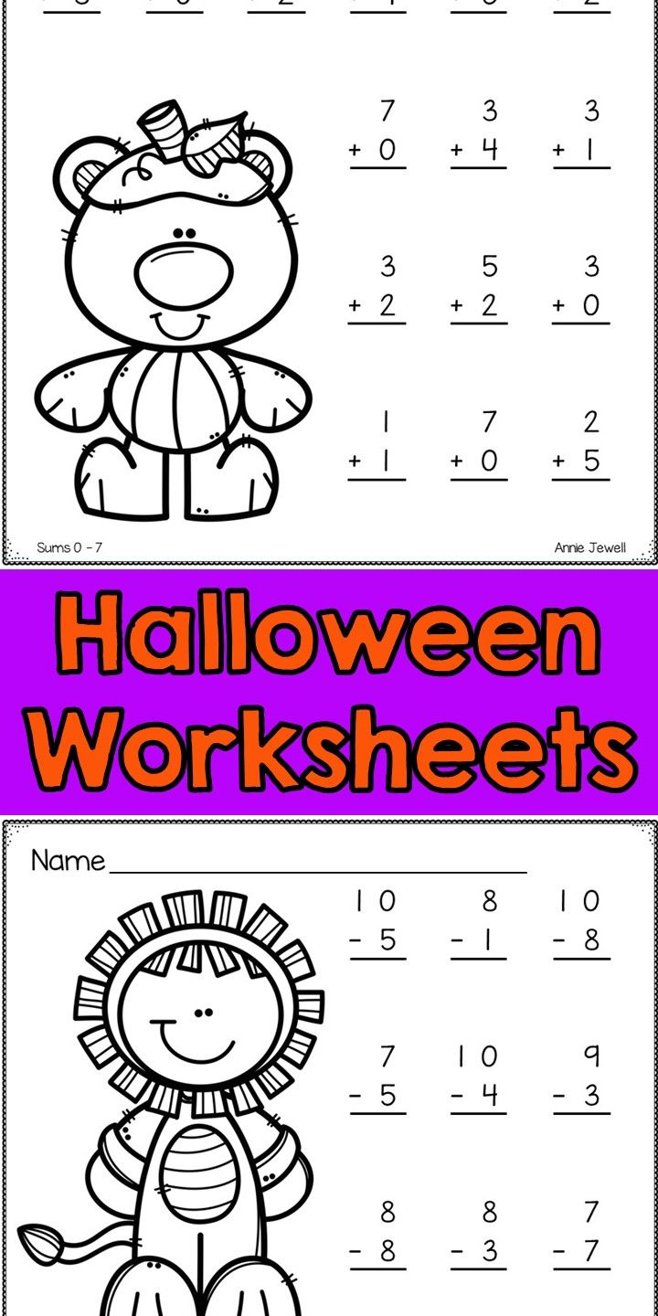 Your Students Will Love These 6 Addition And 6 Subtraction Halloween Themed Math Addition Worksheets Addition And Subtraction Worksheets Subtraction Worksheets [ 1440 x 720 Pixel ]