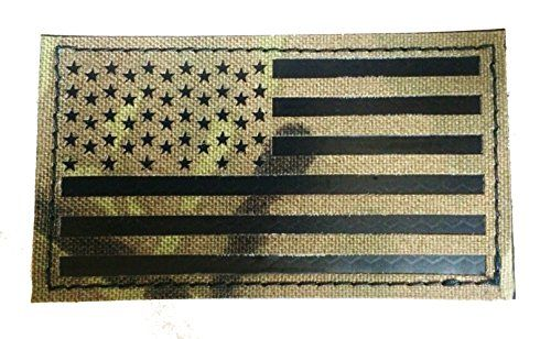 3 5x2 Inch Infrared Multicam Ir Us Flag Patch Us Army Special Forces Green Beret Cag Empire Tactical Http Www Amazon Green Beret Flag Patches Special Forces