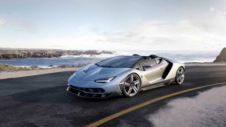 Lamborghini Centenario Roadster Makes It S Debut At Pebble Beach