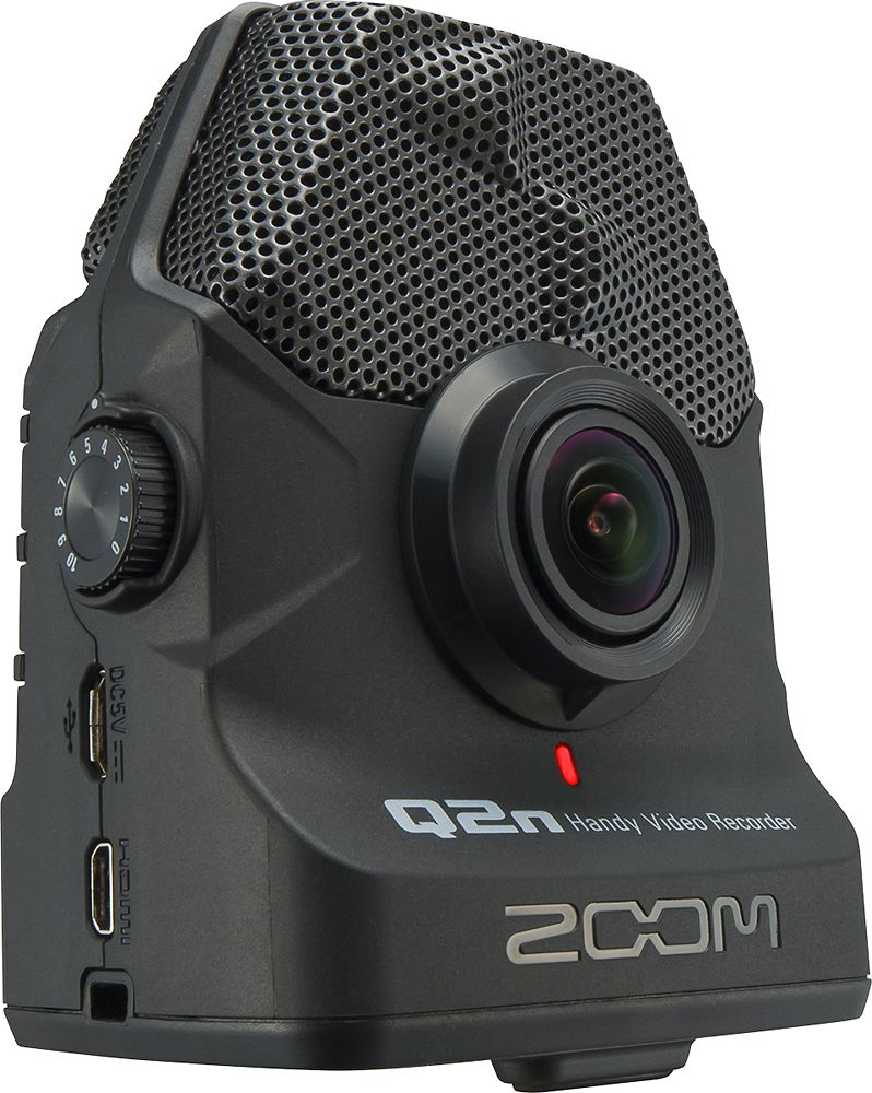 Zoom - Q2n HD Action Camera - Black | Products | Camcorder
