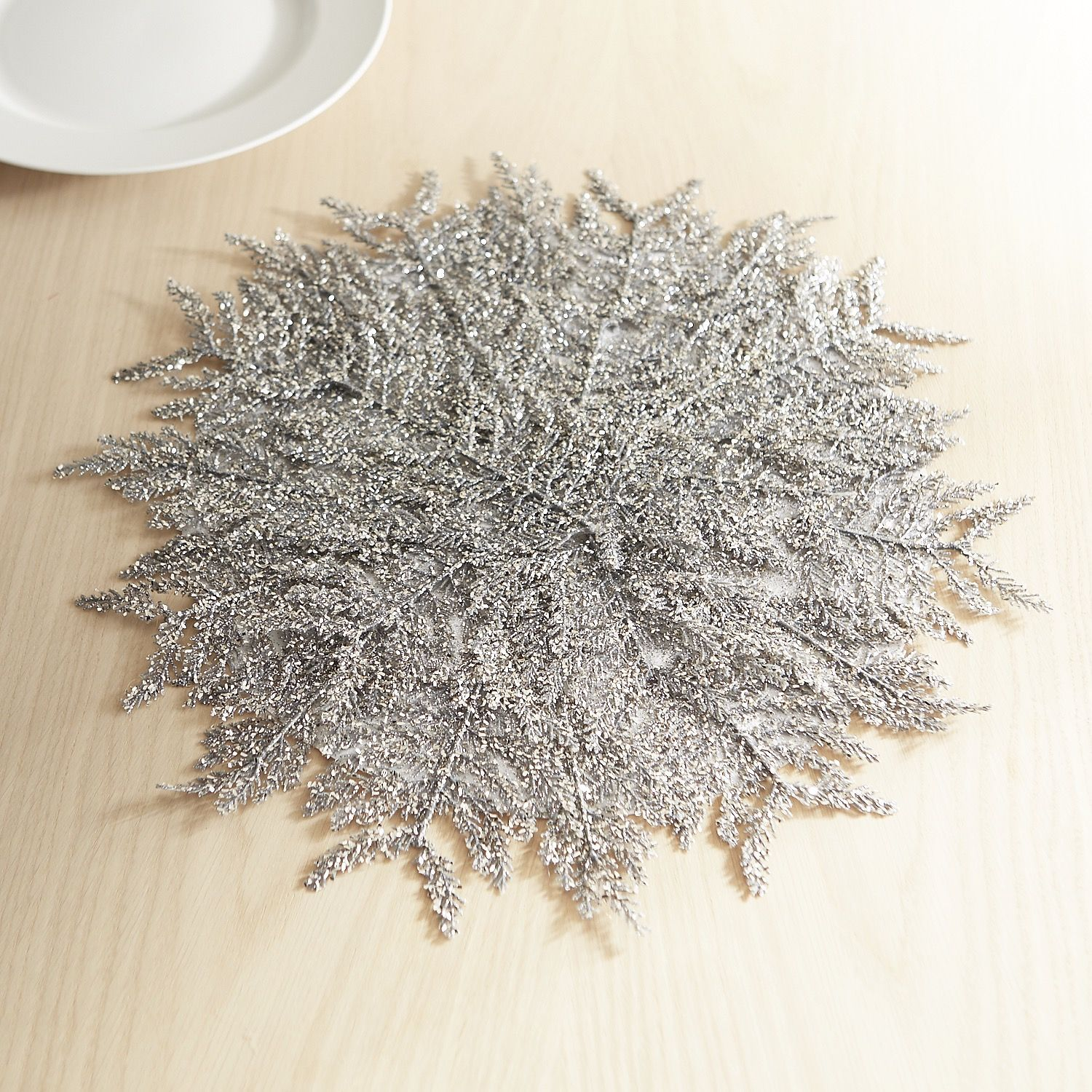Glitter Snowflake Placemat