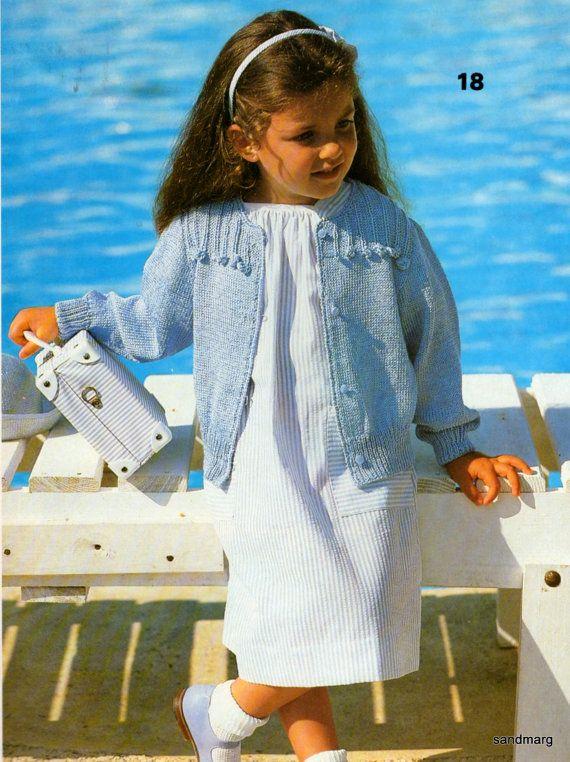 Phildar Knitting Patterns No 116 Classic Fashions For Children