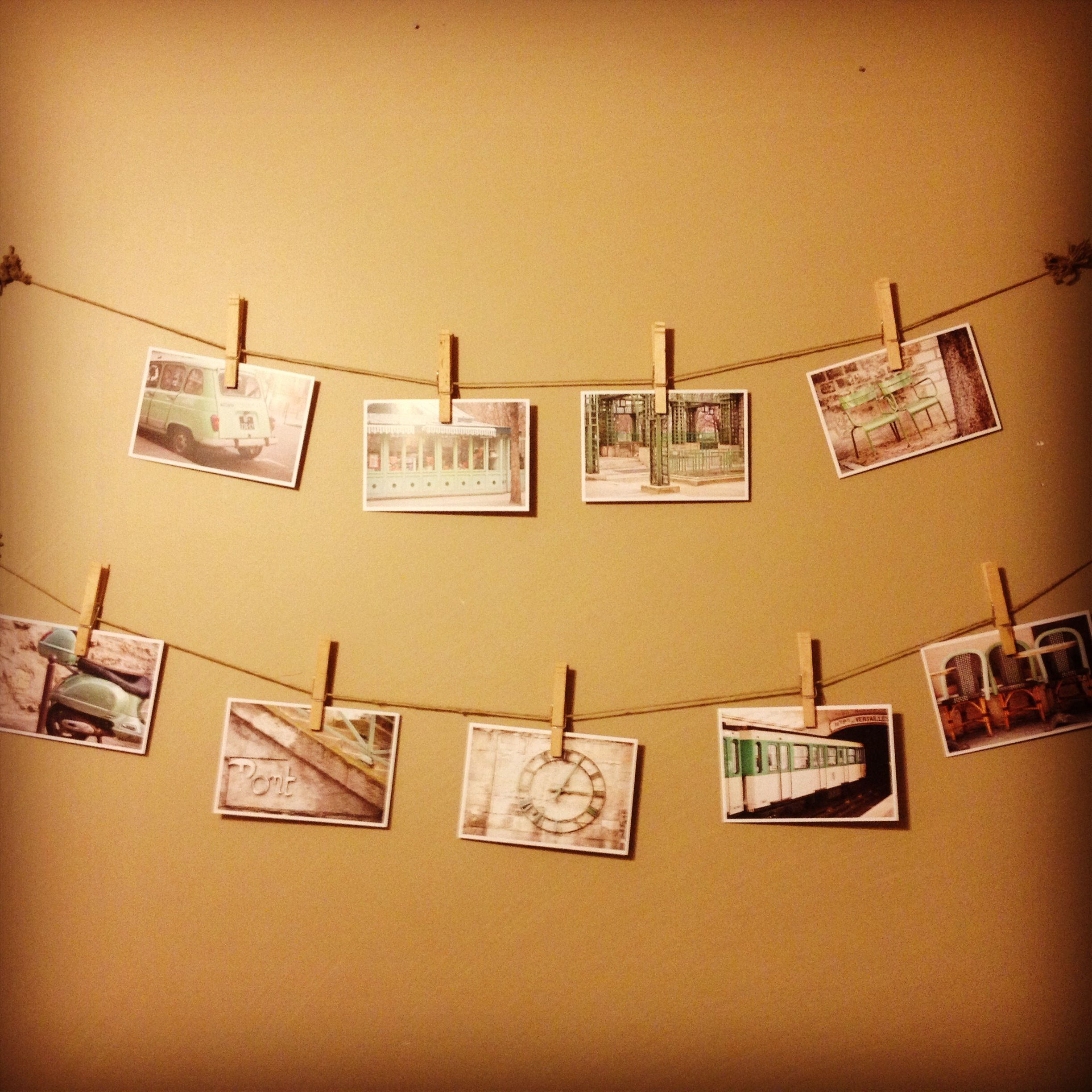 Office wall art! Twine and photos! | To Work... | Pinterest | Office ...