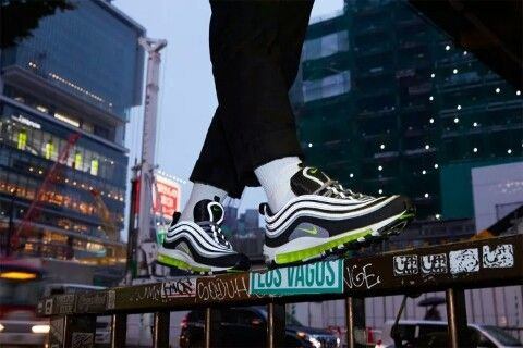 60491e77723 NIKE AIR MAX 97 OG JAPAN Black Volt 921826-004