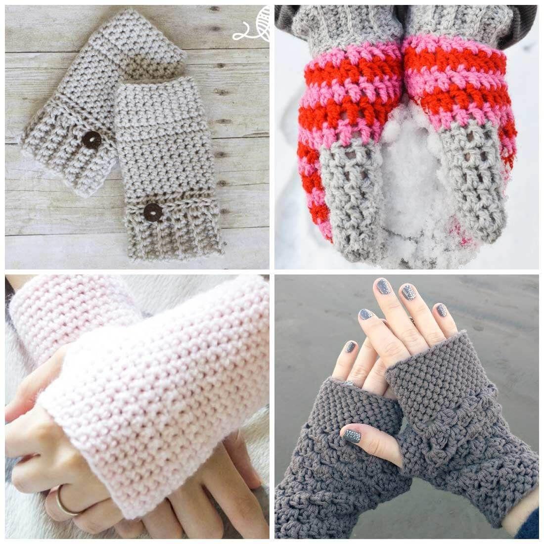 Crochet fingerless gloves mitten crochet patterns fingerless crochet fingerless gloves mitten crochet patterns bankloansurffo Images