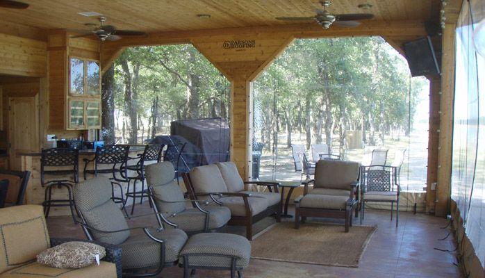 Residential Outdoor Clear Vinyl Patio Enclosures |