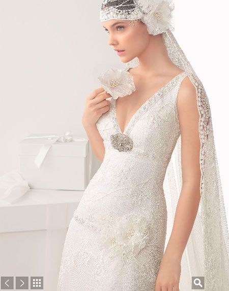 2014 trajes de novia rosaclara | rosa clara novias modelo cecilia