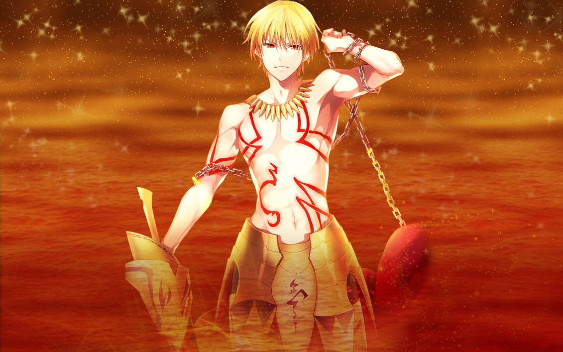 Fate Stay Night Golden King Gilgamesh Wallpaper By Ng9