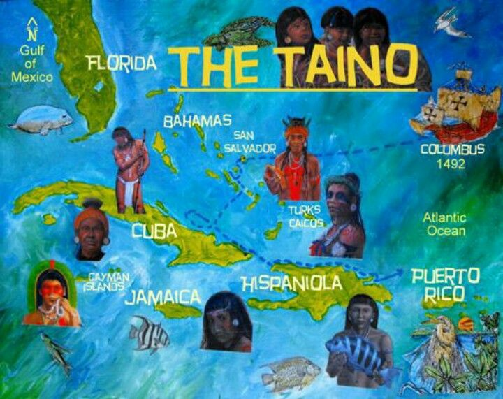 In what ways were the mayans more advanced than the tainos?