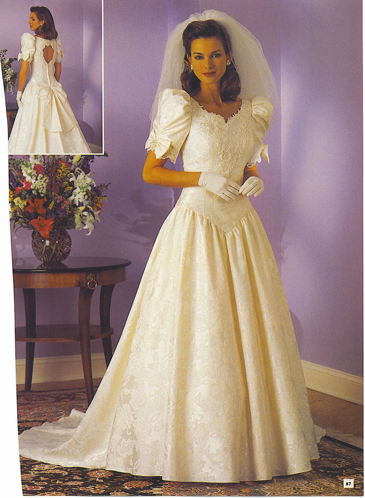 Pin By N Loren On 80 S And 90 S Bridal Wedding Fashion Vintage