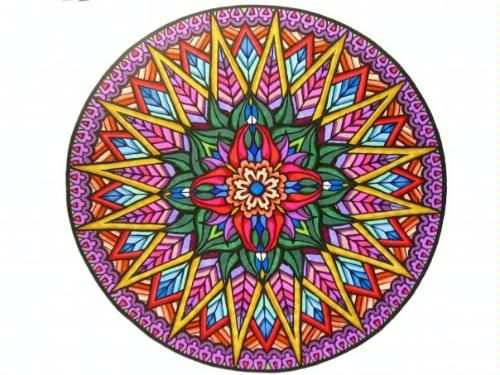 From our Mystical Mandala coloring book #coloringbooks Dover ...