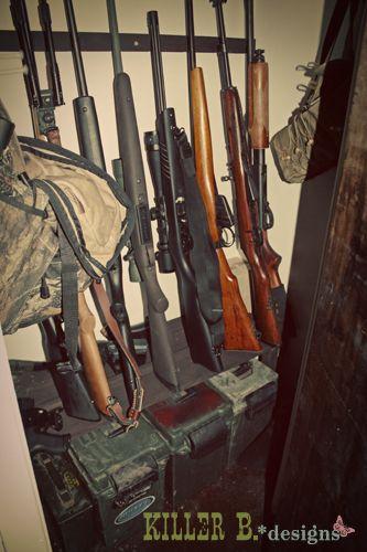 Pin on Gun & Storage