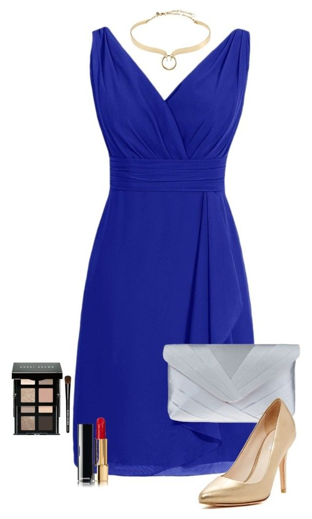 """""""Wedding mood"""" by ritacompleto on Polyvore featuring Nina, Cole Haan, Alexis Bittar and Bobbi Brown Cosmetics"""